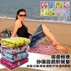 戶外摺疊沙灘遊戲野餐墊