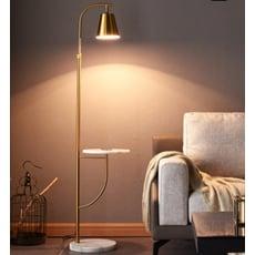 燈具 檯燈 茶幾燈 單色光 北歐落地燈 客廳沙發大理石茶幾燈 臥室床頭置物後現代輕奢立式臺燈