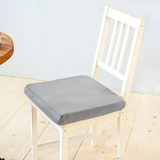 【凱蕾絲帝】台灣製造-久坐專用二合一高支撐記憶聚合紓壓坐墊-淺灰