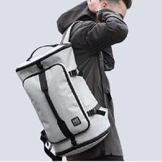 3D零負重旅行多功能大容量雙肩後背包(三色) 有效保護肩椎/腰椎