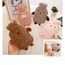 毛絨可愛動物 暖水袋 熱敷袋 暖手袋 大號(1000 ML)