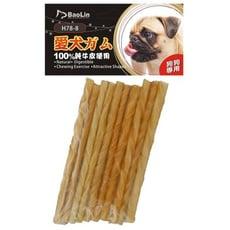 牛皮骨\牛奶味or原味小包裝 10入 狗狗牛皮骨 幼犬成犬磨牙棒 寵物潔牙棒 寵物零嘴點心
