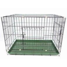 台製靜電烤漆狗籠-雙門 (3尺) 中小型犬適用
