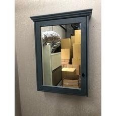 鏡櫃 鏡箱 鏡子 單門 浴室 寬55CM 高80CM 收納浴室不雜亂 PVC防水發泡板 緩降靜音