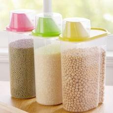 《櫻桃雜貨鋪》塑膠透明量杯密封罐