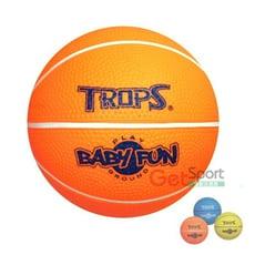 TROPS無毒安全小籃球(6吋球/兒童安全球/15公分/玩具球/遊戲球)