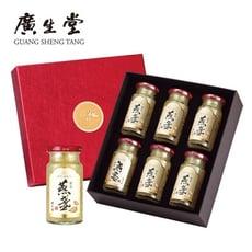 廣生堂 黃金燕盞冰糖燕窩145ml(6入)1盒 送NANA燕窩氣銳二仙膠(10入)1盒