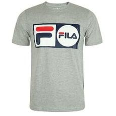 FILA 美國進口 運動品牌 男生LOGO T-SHIRT 短袖上衣 圖T 短T LM913788