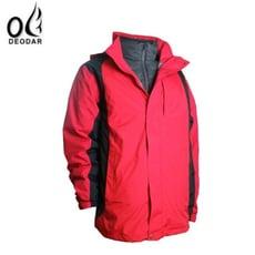DEODAR男 防水兩件式羽絨外套 紅防水外套/羽絨外套/兩件式外套/非GORE-TEX/41300