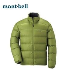 Mont-Bell 日本 Light Alpine Down 男 800FP 羽絨夾克 綠茶羽絨夾克