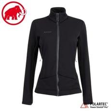 MAMMUT 長毛象 女 Aconcagua 經典刷毛外套《黑》1014-02460/立領外套