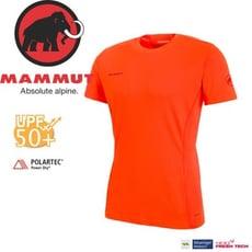 MAMMUT Sertig T-Shirt 男/L《深橙》1017-00110-2142/長毛象/抗