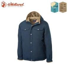Wildland 荒野 男 鵝絨防潑水極暖外套《深霧灰》OA62998/羽絨外套/連帽羽絨衣/夾克
