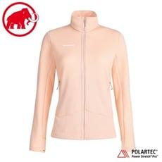 MAMMUT 長毛象 女 Aconcagua 經典刷毛外套《夕沙粉》1014-02460/立領外套