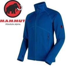 MAMMUT 男Aconcagua Jkt彈性刷毛外套《群青藍》刷毛衣/1014-17861
