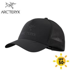 ARC'TERYX 始祖鳥 LOGO 網帽《黑》23965/鴨舌帽/棒球帽/遮陽帽/休閒帽
