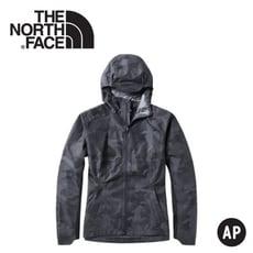 The North Face 男 防水外套《迷彩印花》3YVE/防水外套/衝鋒衣/防風外套/保暖外套
