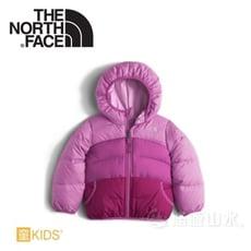 The North Face 女童 雙面 550FP羽絨外套《紫藤紫灰》NF0A2TMEHLP/鵝絨