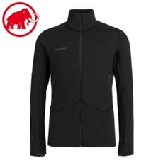 MAMMUT 長毛象 男 Aconcagua 經典刷毛外套《黑》1014-02450/保暖外套
