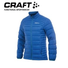 CRAFT 瑞典 男 輕量羽絨外套《瑞典藍》1902294/防水/防風/保暖外套/登山外套