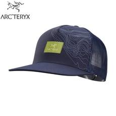 ARC'TERYX 始祖鳥 Topographical網帽《夜月藍》27696/棒球帽/鴨舌帽/遮陽