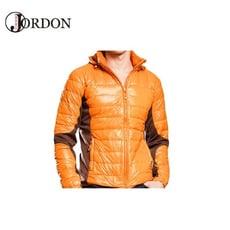 JORDON 橋登 男 超輕撥水羽絨夾克《深橘》993/輕量羽絨衣/羽絨外套/保暖外套