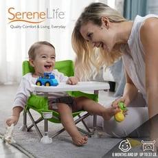 Cemiro 便攜式兒童餐桌椅 可折疊 幼兒小童均適用 多功能學習餐桌 野餐露營,專屬寶座