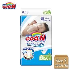Goo.n大王境內版-黏貼型 尿布S 號(箱購)