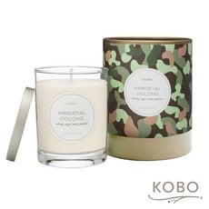 【KOBO】美國大豆精油蠟燭 - 烏龍流香 (330g/可燃燒80hr)
