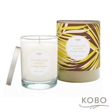 【KOBO】美國大豆精油蠟燭 - 薑芬香檳 (330g/可燃燒80hr)
