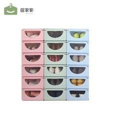 防潮加厚透明鞋盒抽屜式塑膠鞋子收納盒鞋整理箱盒子組合靴子鞋箱【3C精品閣】