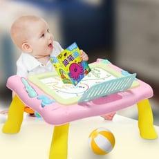 兒童彩色磁性寫字板嬰幼兒畫畫板益智小黑板寶寶涂鴉玩具2-3-5歲 【3C精品閣】~