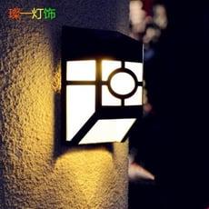 太陽能燈-戶外牆壁燈室外燈庭院燈牆頭燈防水園林景觀陽台燈中式