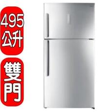 Whirlpool惠而浦【WIT2515G】495L鈦金鋼上下門冰箱