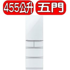 MITSUBISHI 三菱【MR-BC46Z-W-C】455公升 日本原裝五門變頻冰箱-水晶白 優質