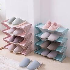 (限宅配)居家簡約多層收納鞋架