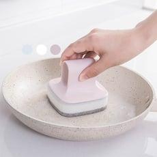 北歐海綿洗碗刷置物掛架套組