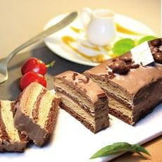 【捷克媽媽手工蜂蜜蛋糕】古典黑巧蜂蜜千層蛋糕