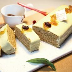 【捷克媽媽手工蜂蜜蛋糕】柚香柑橘蜂蜜千層蛋糕