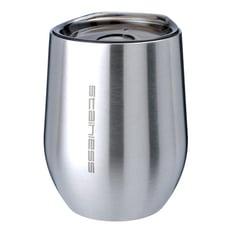 魔力坊嚴選 SL系列原素304不鏽鋼雙層真空保溫杯保冰杯附蓋330ml