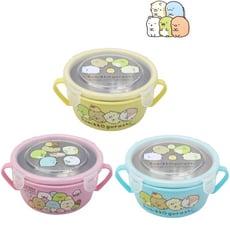 【角落生物】不銹鋼雙耳碗450ml\兒童碗 隔熱碗-隨機