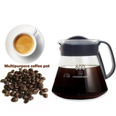 SYG台玻耐熱玻璃咖啡壺600ML(塑膠握把)/沖泡壺/泡茶壺