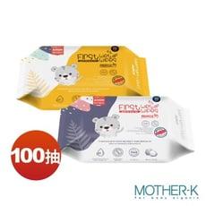 韓國MOTHER-K 自然純淨嬰幼兒濕紙巾-基本款100抽