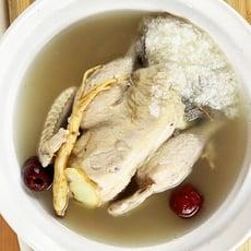 糯米人蔘雞湯/干貝鮮味雞湯