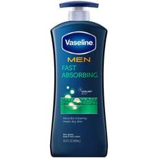 【美國 Vaseline】凡士林 身體潤膚乳液-多款-新包裝(600ml)*3加贈護唇膏*1