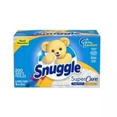 New!【美國 Snuggle】烘乾機香衣片-百合和亞麻(200片)*1