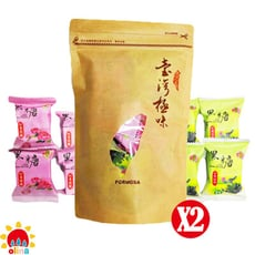 【olina】台灣富貴養生黑糖隨身包(紅棗桂圓*4+玫瑰四物*4) -2包組