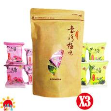 【olina】台灣富貴養生黑糖隨身包(紅棗桂圓*4+玫瑰四物*4) -3包組