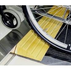 木製斜坡板 - 6cm高 美國白楊木 輪椅使用者 減緩高低差與段差 台灣製 [ZHTW1744-6]