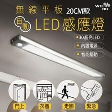 WEI BO原廠 磁吸式無線平板自動感應燈 內置30顆LED燈(20公分) (內置裡聚合物電池免牽線